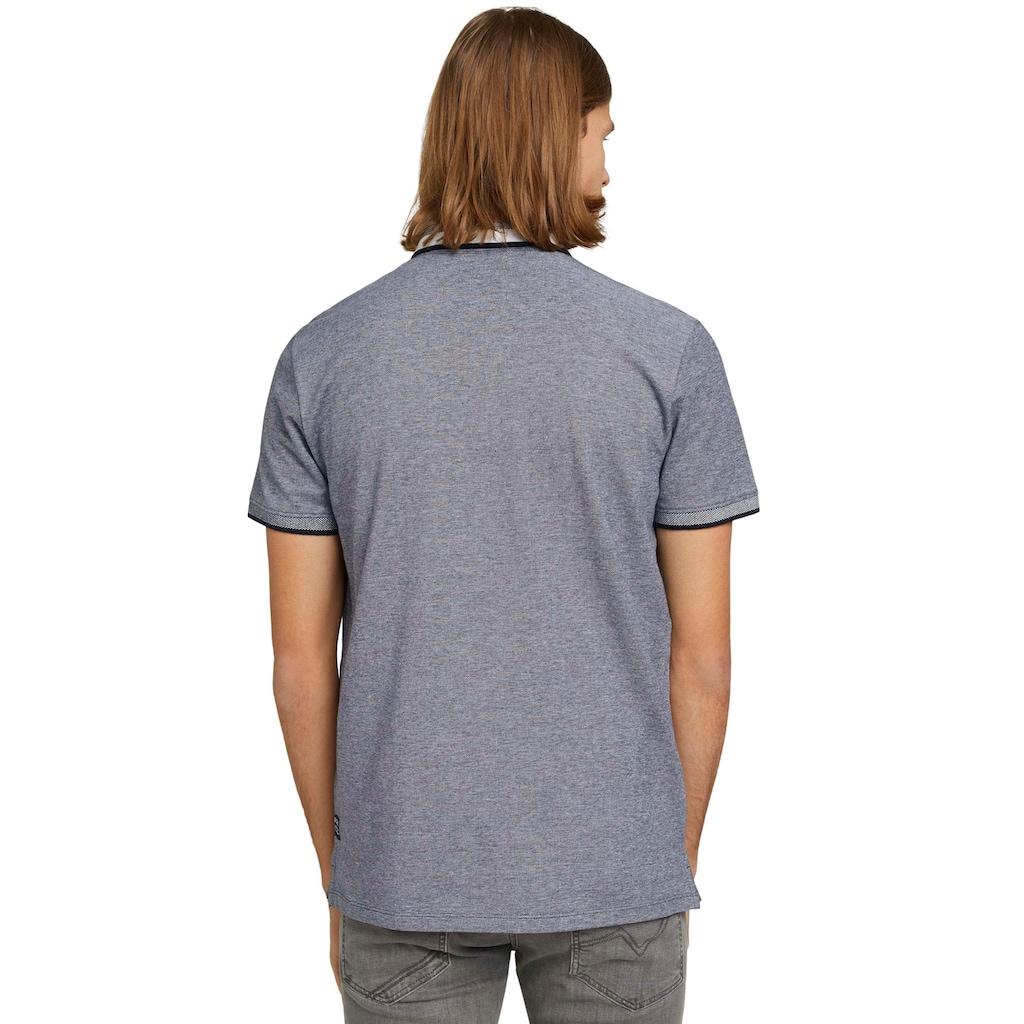 TOM TAILOR Denim Poloshirt