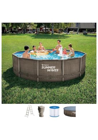 SummerWaves Rundpool »Active«, ØxH: 366x91 cm kaufen