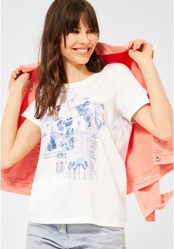 Cecil Rundhalsshirt, aus reiner Baumwolle kaufen