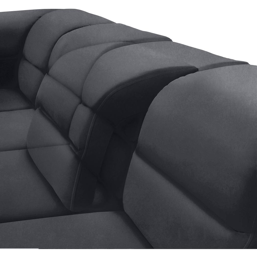 sit&more Wohnlandschaft, mit Federkern, inklusive Kopfteil- und Sitztiefenverstellung