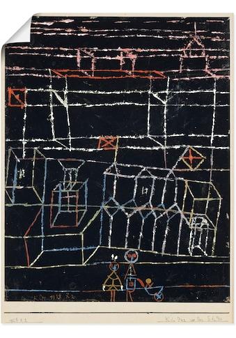 Artland Wandbild »Kinder vor der Stadt. 1928.«, Muster, (1 St.), in vielen Größen &... kaufen