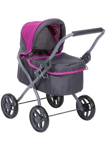 Knorrtoys® Puppenwagen »Mini Lili, tec purple« kaufen