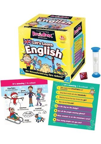 """Spiel, Lernspiel """"BrainBox, Let's Learn English"""" kaufen"""
