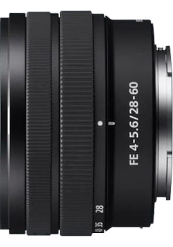 Sony Objektiv »SEL 28–60mm FE4–5.6« kaufen