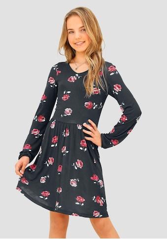 Arizona Jerseykleid, mit Blumendruck kaufen