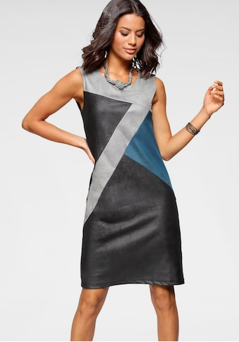 Bruno Banani Jerseykleid, Color-blocking kaufen