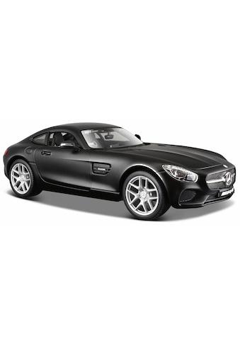 Maisto® Sammlerauto »Dull Black Collection, Mercedes AMG GT, 1:24, schwarz«, 1:24, aus Metallspritzguss kaufen