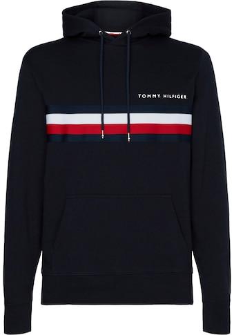 TOMMY HILFIGER Kapuzensweatshirt »HILFIGER LOGO HOODY« kaufen