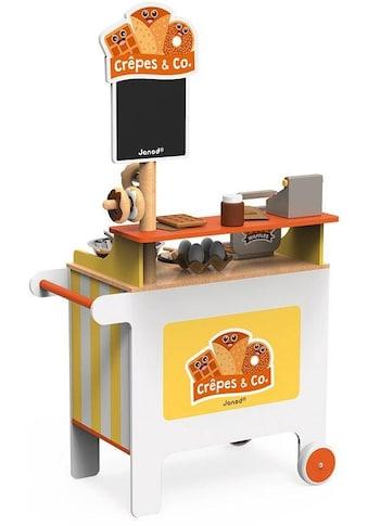 Janod Spielküche »Verkaufsstand Crêpes & Co.«, (40 St.), mit Zubehör kaufen