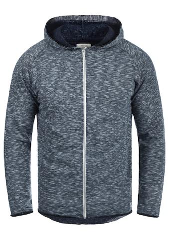 REDEFINED REBEL Kapuzensweatjacke »Malik«, Sweatshirtjacke mit offenen Saumabschlüssen kaufen