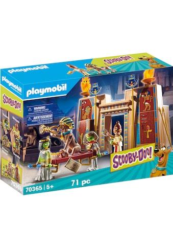 """Playmobil® Konstruktions - Spielset """"SCOOBY - DOO! Abenteuer in Ägypten (70365), SCOOBY - DOO!"""", Kunststoff kaufen"""