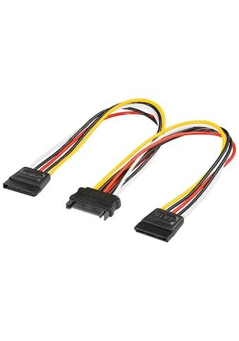 Goobay PC Y Stromkabel/Stromadapter kaufen