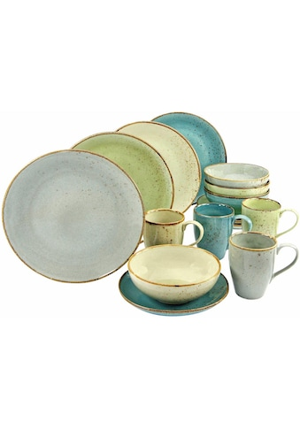 CreaTable Kombiservice »NATURE COLLECTION«, (Set, 16 tlg.), spülmaschinengeeignet kaufen