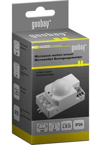 Goobay Mikrowellen-Bewegungsmelder kaufen