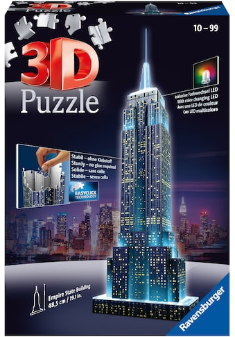Ravensburger 3D-Puzzle »Empire State Building Night Edition«, Made in Europe, FSC® -... kaufen