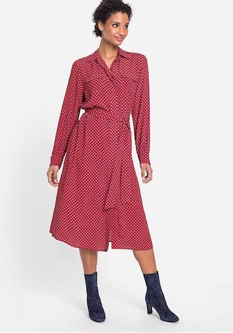 Olsen Hemdblusenkleid, mit Brusttaschen und Taillengürtel kaufen