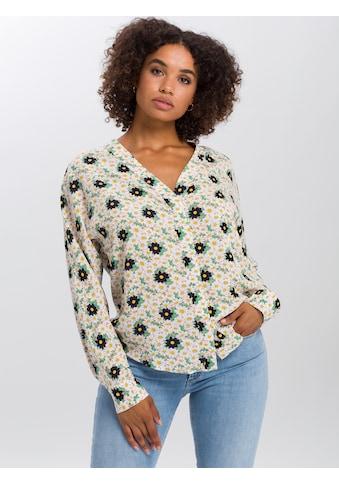 Cross Jeans® Hemdbluse »75277«, Leicht fließendes Gewebe kaufen