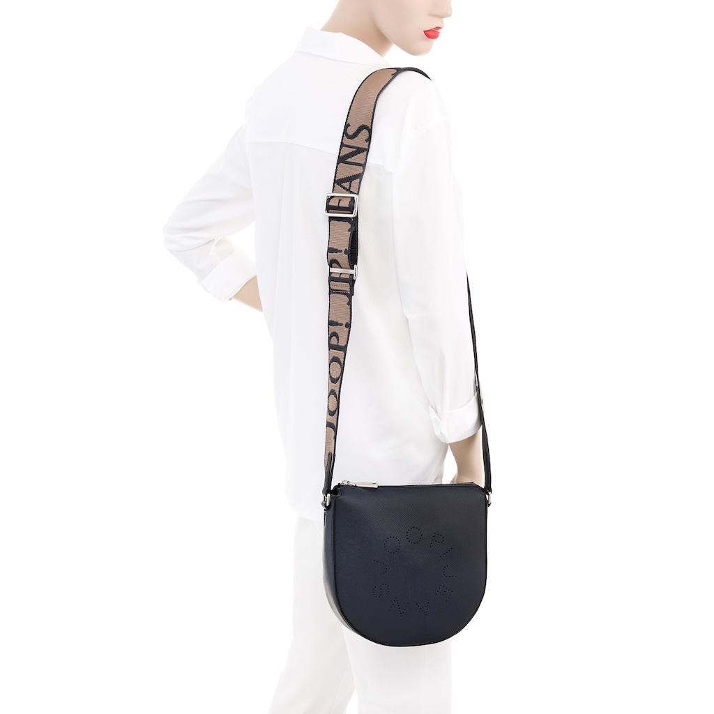 Joop Jeans Umhängetasche, mit modischem Textilumhängeriemen