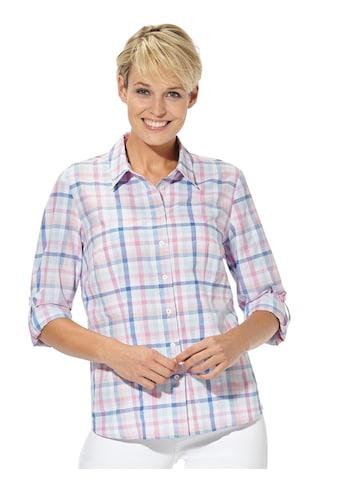 Casual Looks Bluse in frischem Karodessin kaufen