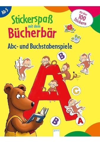 Buch »Stickerspaß mit dem Bücherbär. Abc- und Buchstabenspiele / Kristin Labuch, Kristin Labuch« kaufen