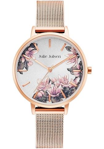 Julie Julsen Quarzuhr »BLOSSOM ROSÉ MESH, JJW1211RGME« kaufen