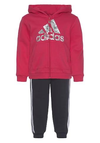 adidas Performance Jogginganzug »LOGO FULLZIP HOOD FLEECE« (Set, 2 tlg.) kaufen