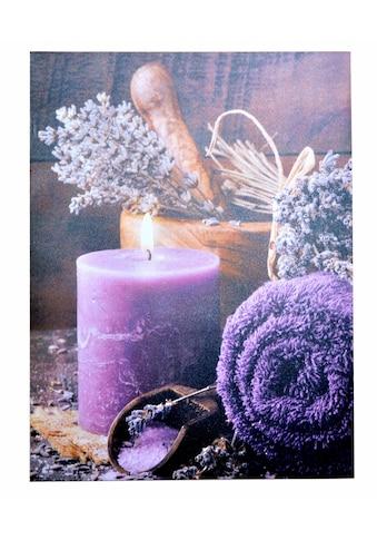 Home affaire LED - Bild »Kerze« kaufen