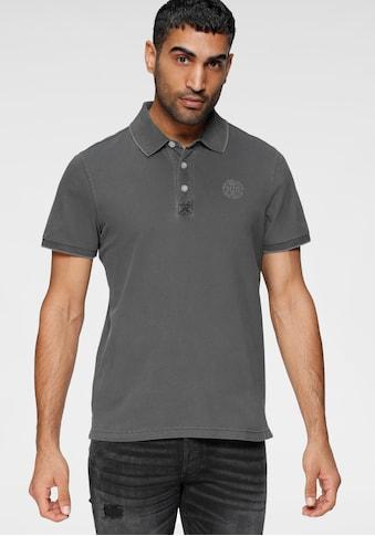 H.I.S Poloshirt, in gewaschener Optik kaufen