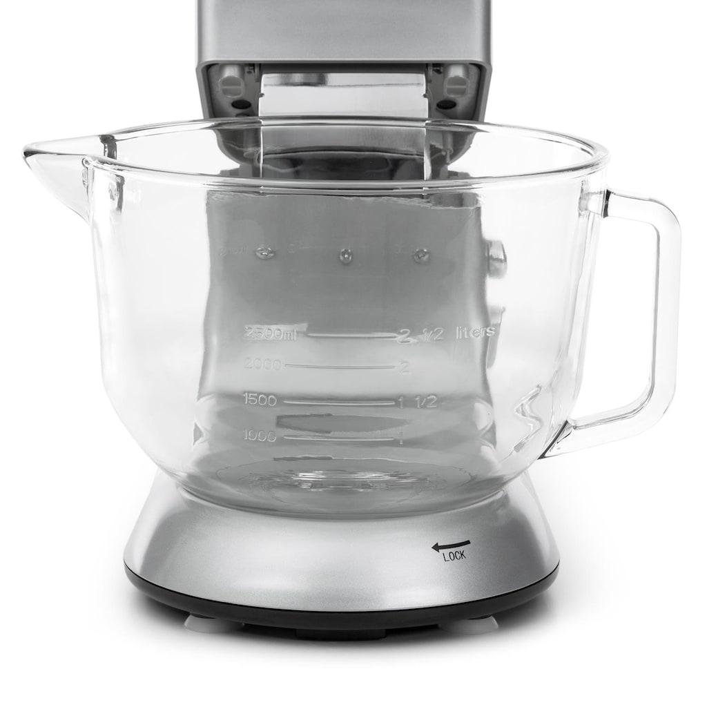 Klarstein Küchenmaschine Rührmaschine Fleischwolf Mixer 1200W