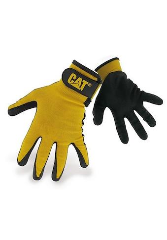 CATERPILLAR Multisporthandschuhe »17416 Herren Nylon - Handschuhe mit Nitrilbeschichtung« kaufen