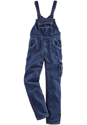 Latzhose »Worker Jeans«, mit dehnbarem Bund kaufen