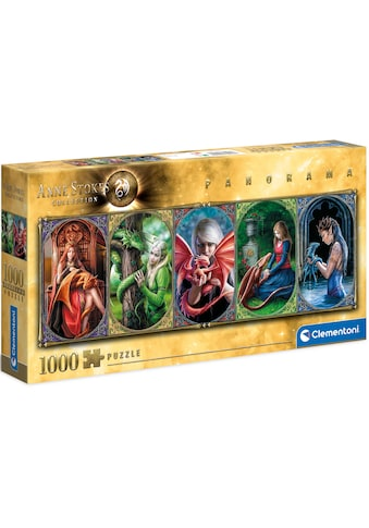 Clementoni® Puzzle »Panorama Anne Stokes Collection - Drachen-Freundschaft«, Made in... kaufen