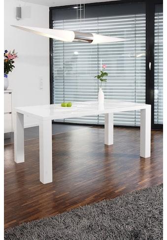 SalesFever Esstisch, in edlem Hochglanz kaufen