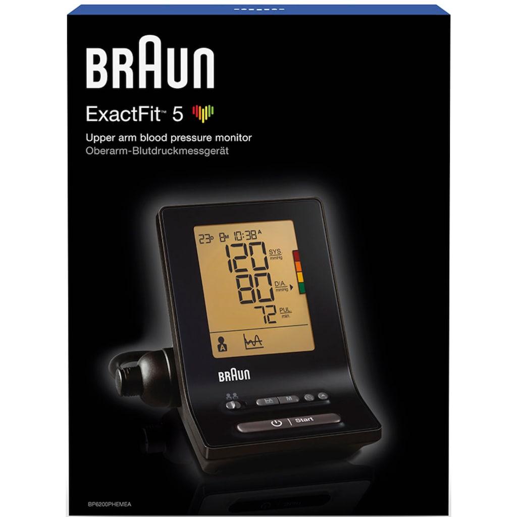 Braun Oberarm-Blutdruckmessgerät »ExactFit™ 5 BP6200«