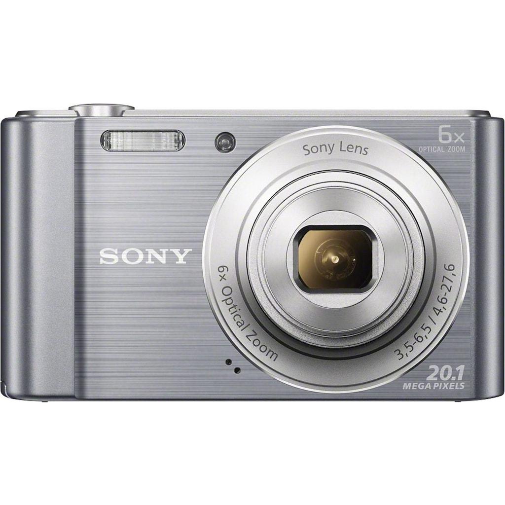 Sony Kompaktkamera »DSC-W810«, Gesichtserkennungstechnologie für bis zu 8 Gesichter (Kontrast, Helligkeit, Farbe)