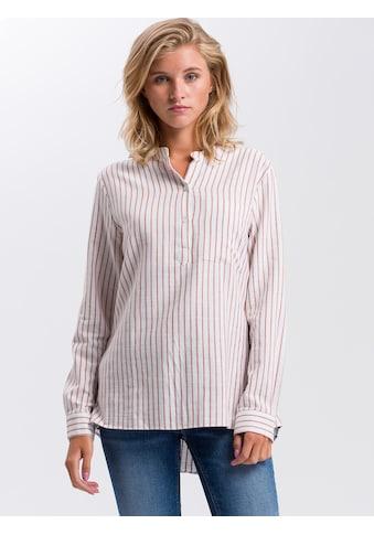 Cross Jeans® Longbluse »75255«, Feminim Lässig kaufen