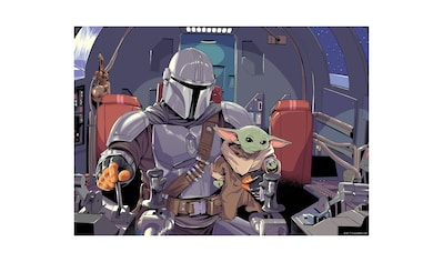 Komar Wandbild »Mandalorian The Child Cockpit«, Disney-Star Wars, (1 St.), 70 x 50 cm... kaufen