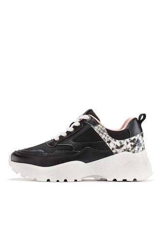 LASCANA Sneaker, mit Plateausohle und angesagtem Animal-Print kaufen