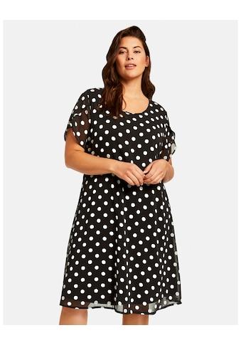 Samoon Kleid Gewirke »Chiffon - Kleid mit Polka Dots« kaufen