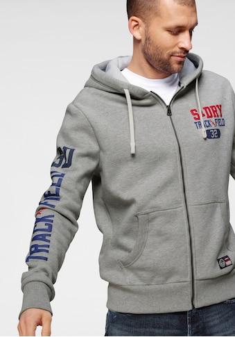 Superdry Kapuzensweatjacke »TRACK & FIELD GRAPHIC ZIPHOOD« kaufen