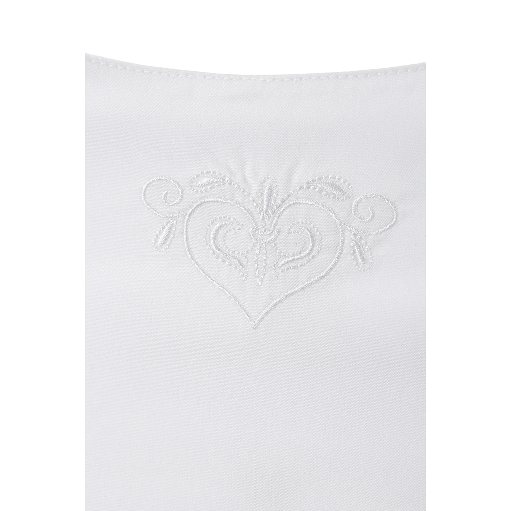Spieth & Wensky Trachtenbluse, mit zarter Stickerei