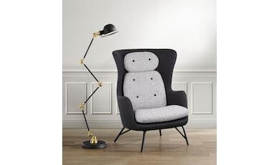 andas Sessel »Andris«, in modernem Design, Ohrensessel kaufen