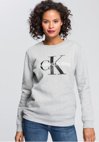 Calvin Klein Jeans Sweatshirt, mit weich angerauter Innenseite kaufen