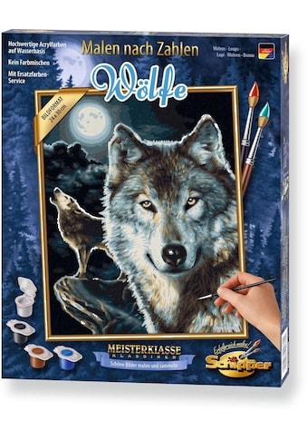 Schipper Malen nach Zahlen »Meisterklasse Klassiker - Wölfe«, Made in Germany kaufen
