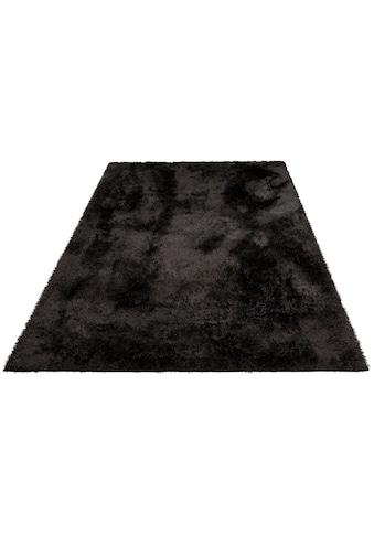 Home affaire Hochflor-Teppich »Malin«, rechteckig, 43 mm Höhe, Besonder weich durch Microfaser, Wohnzimmer kaufen