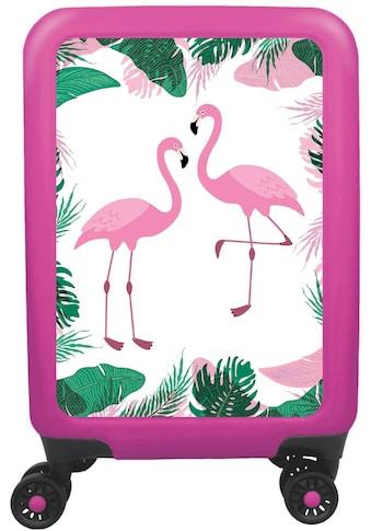 meinTrolley Hartschalen-Trolley »Flamingo«, 4 Rollen, Made in Germany kaufen