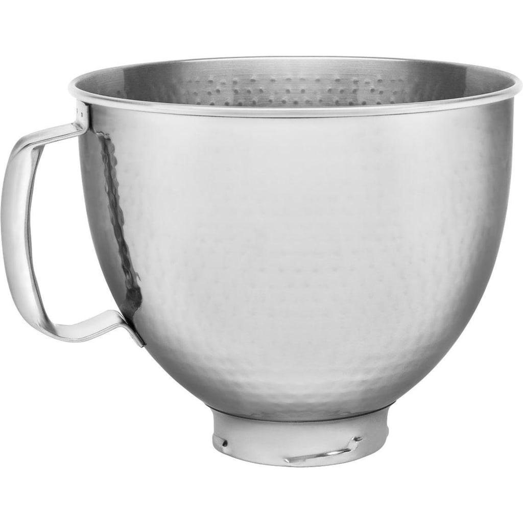 KitchenAid Küchenmaschinenschüssel »5KSM5SSBHM«, gehämmert mit Griff
