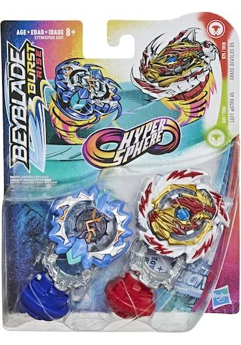 Hasbro Speed-Kreisel »Beyblade Burst Rise Hypersphere, Doppelpack Erase Devolos D5 und Left Astro A5« kaufen