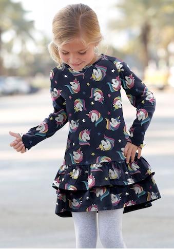 KIDSWORLD Jerseykleid, mit Raglanärmeln kaufen