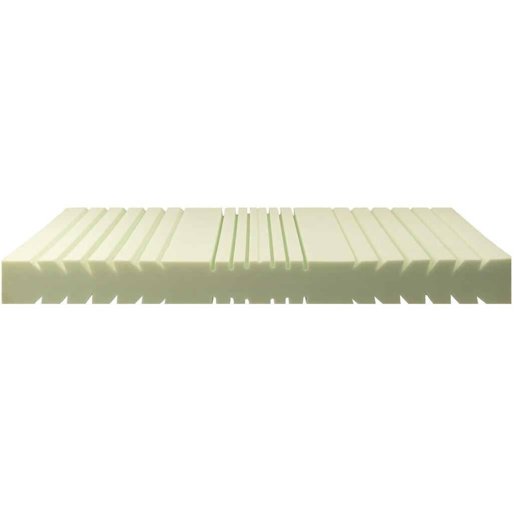 Breckle Komfortschaummatratze »EvoX 23«, (1 St.), neuartiger, langlebiger Qualitätsschaum EvoX mit Kernschnitt, der die Wirbelsäule entlasten kann, für einen erholsamen Schlaf